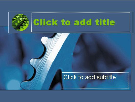 Download Blue flywheel design slides
