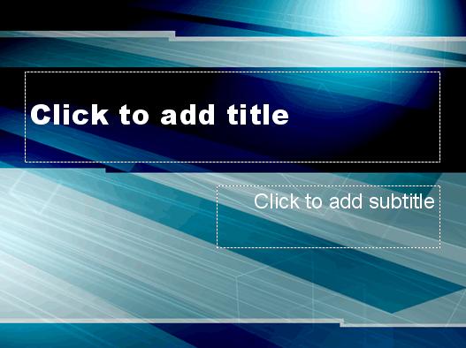 Sheet Lightning Design Slides