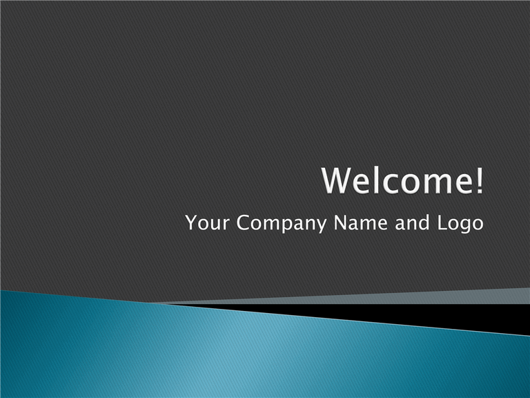 Employee orientation presentation template for powerpoint for Hr ppt templates free download