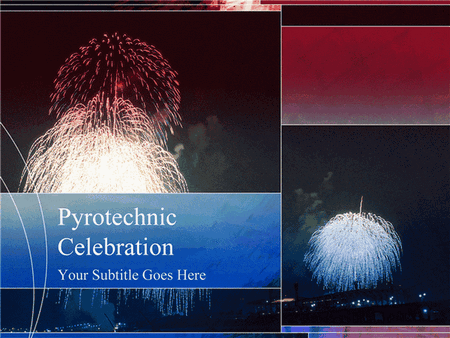 Fireworks Design Slides