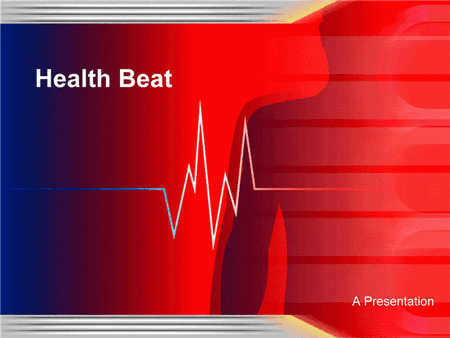 Health Beat Design Template