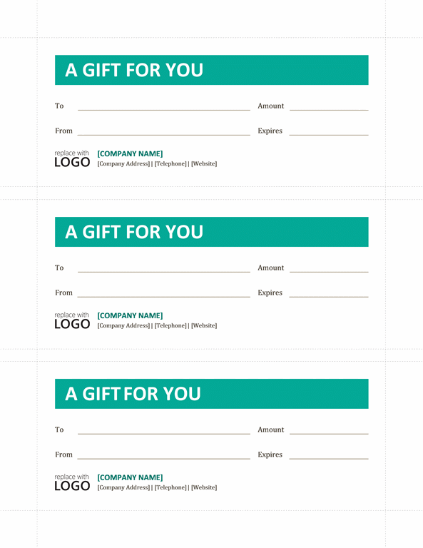 Download Gift Certificate Template Microsoft Word