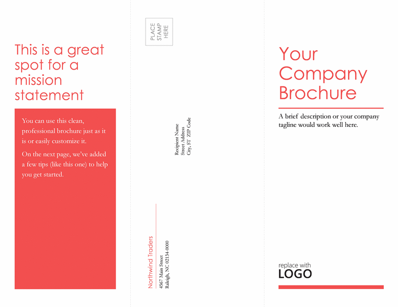 Tri-fold Medical Business Brochure