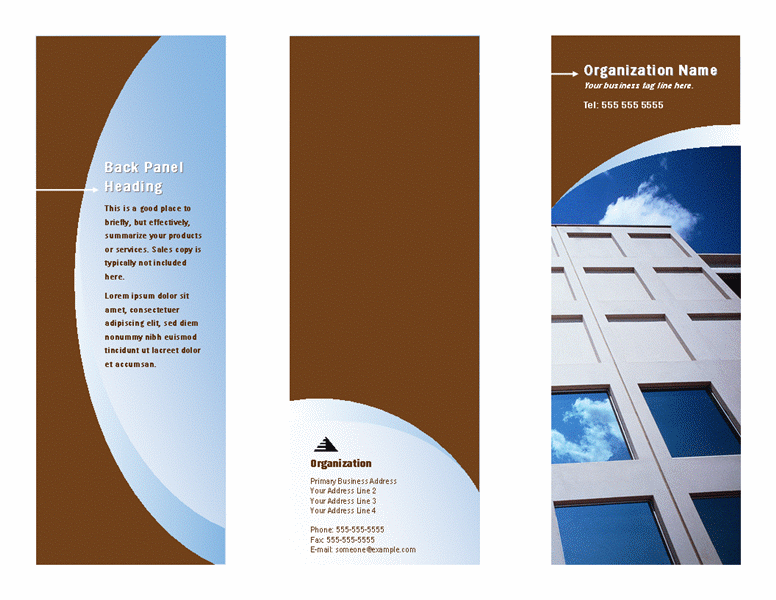 Company Informational Brochure In Professional Design