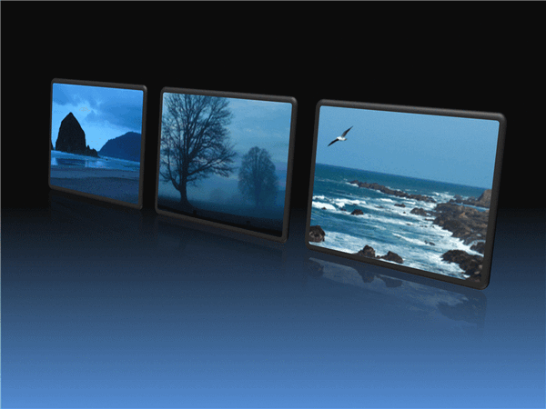 Framed Pictures In A Row
