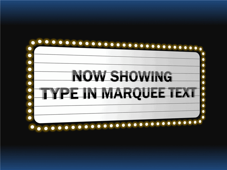 download marquee with 3