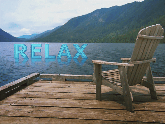 Relaxing At The Lake (with Video)