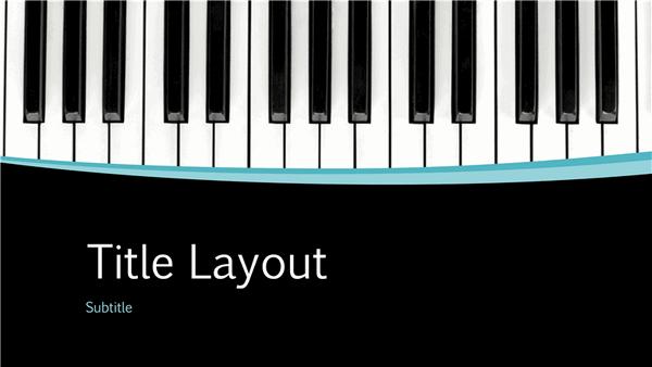 Musical Curves Presentation (widescreen)