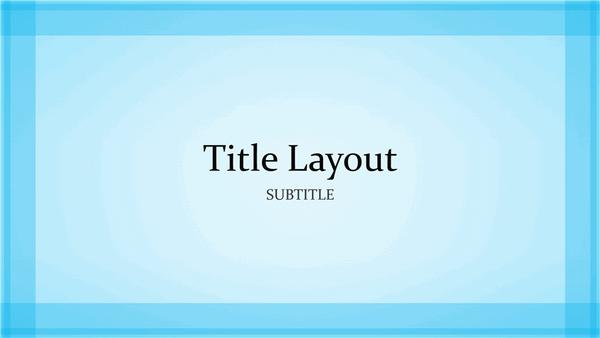 widescreen presentation templates