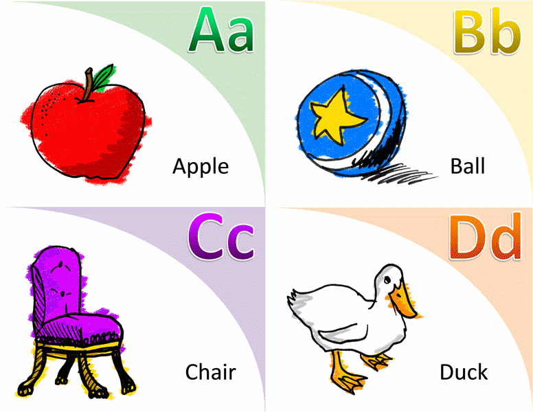 Download Alphabet Vocabulary Flash Card Template Word 2013
