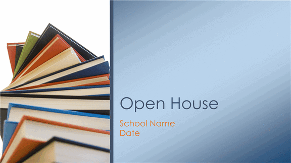 free download classroom open house presentation in new school year templates