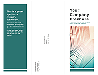 Tri-fold Business Company Brochure