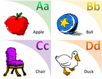 Alphabet Vocabulary Flash Card Template Word 2013