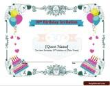 Free 30th Birthday Invitation Wording Templates For Him And Her