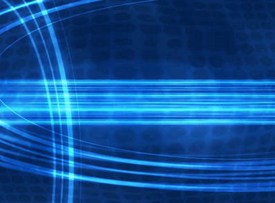 Blue Strands Design Slides