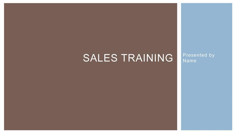 business sales training presentation template for powerpoint 2013
