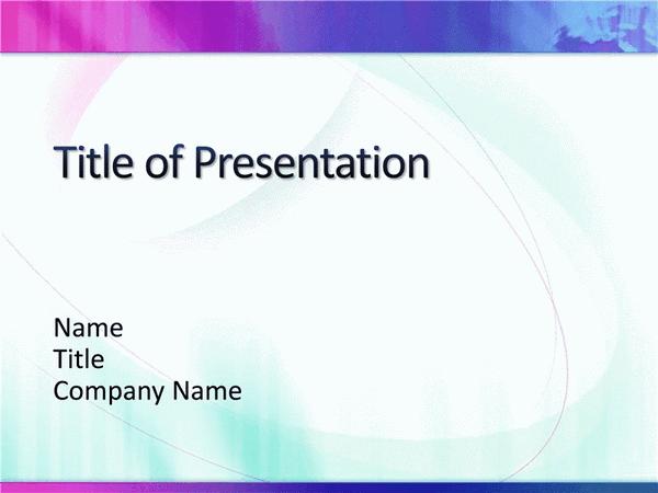 Combination White Magenta Blue Ppt Slides Design Template ...