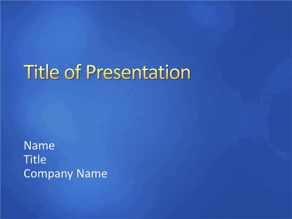 medium blue sample slides design template for powerpoint