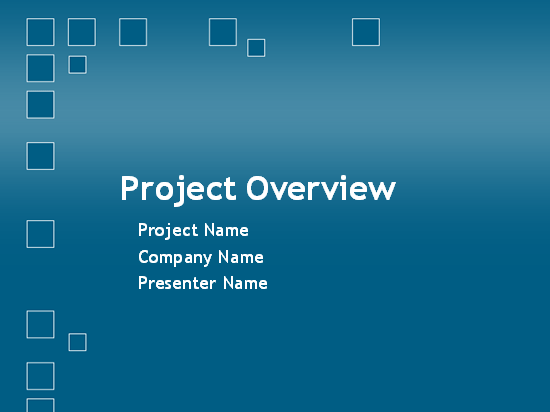 Project Planning Overview Presentation Template For