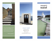 Tri-fold Brochure In Travel Theme