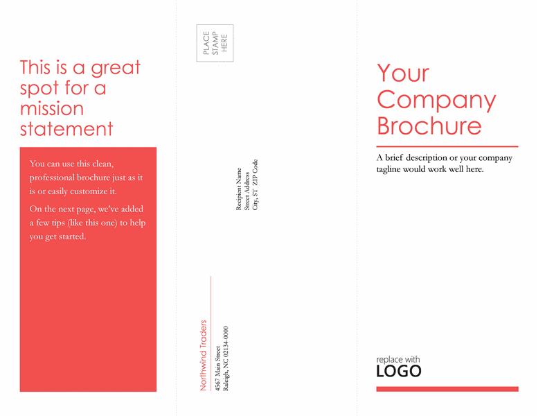 Tri-fold Medical Business Brochure