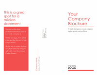 Trifold Simple Corporate Brochure