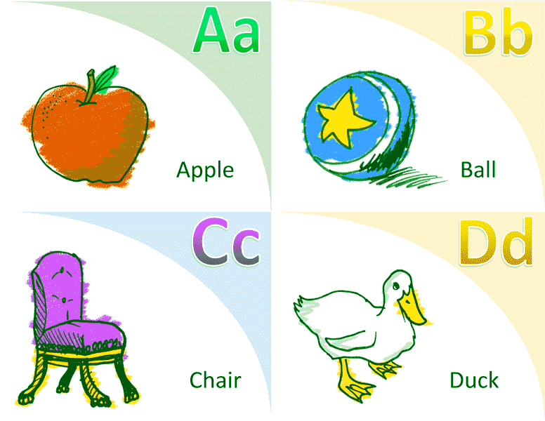 Alphabet Vocabulary Flash Card Template Word 2013 03
