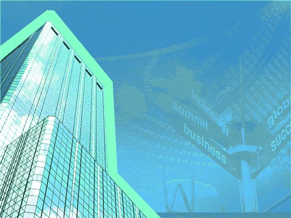 Big Business Design Slides Green