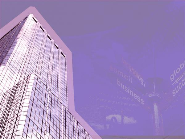 Big Business Design Slides Red