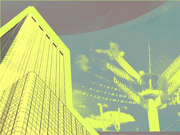 Big Business Design Slides Yellow