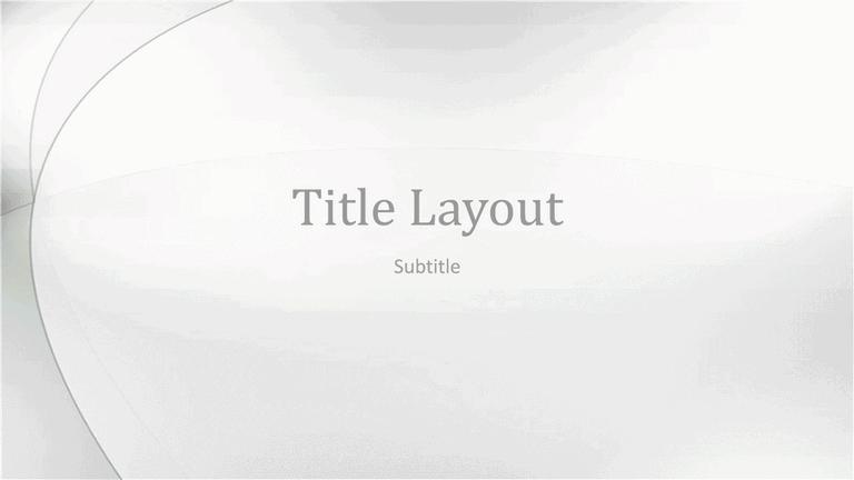 Cloud Skipper Design Slides Grayscale