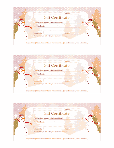 microsoft powerpoint certificate template