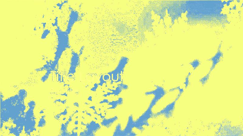 Snowflakes Design Slides Yellow
