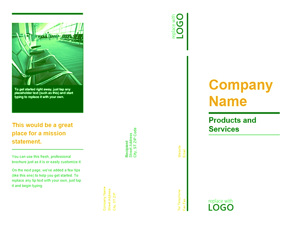 tri fold brochure template word 2007 - download product for microsoft office 2003 2007 2010 2013